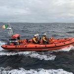 Clifden RNLI crew rescues stranded jet skis