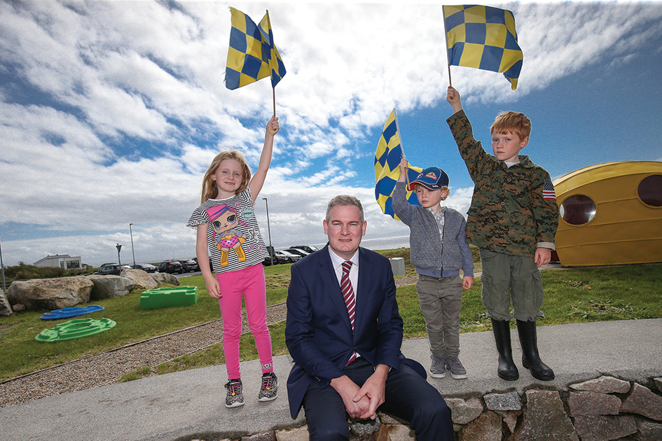 Flying the flag for Irish language
