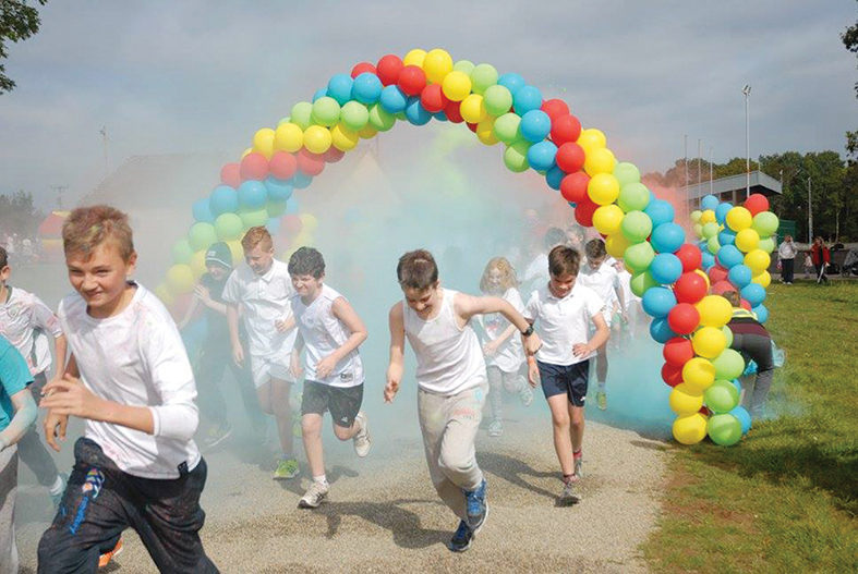 Colour dash for Corribdale Park