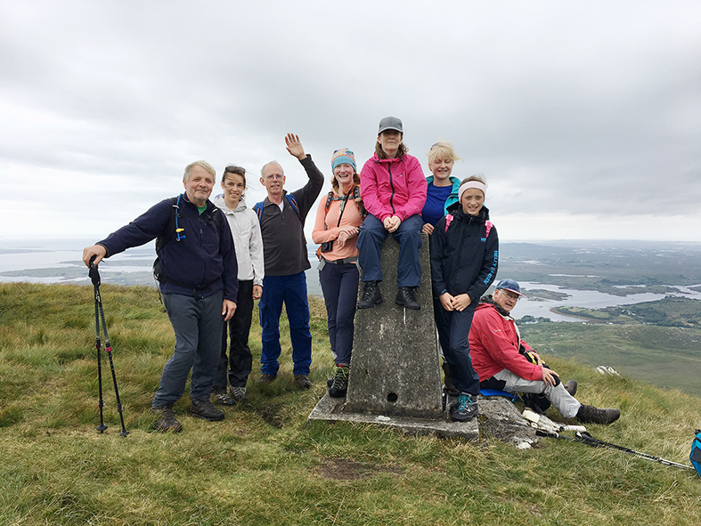 Rich rewards for Cashel Hill charity trek