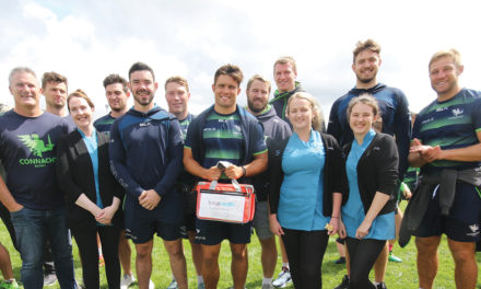 Connacht stars at Connemara camp