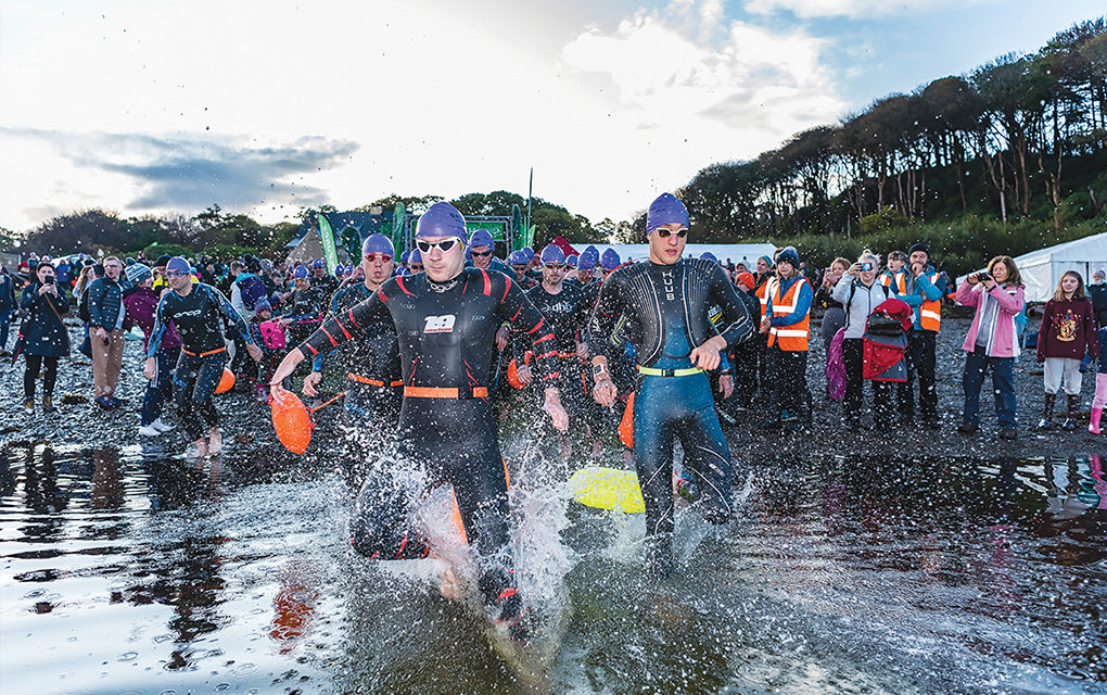 Great Fjord Swim draws 1,200 competitors